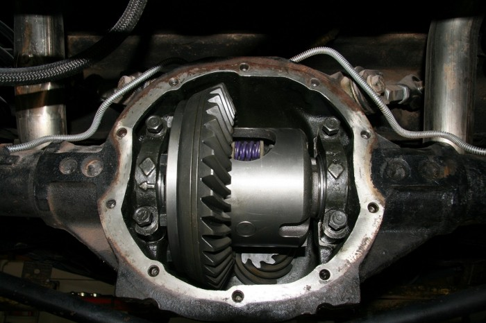 Differential service maintenance