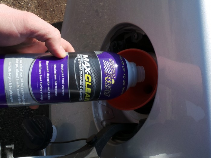 Fuel system cleaning easy with NAPA auto parts