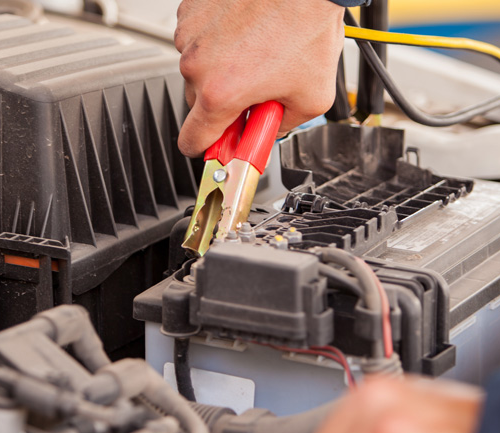boost a car battery