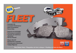 NAPA Fleet brake pads
