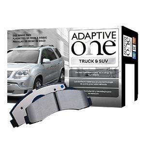 adaptive one brake pads